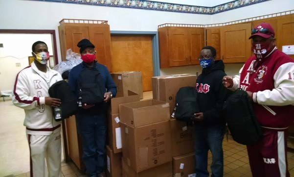 Bishopville-Manning-Shaw-AFB (SC) Alumni Donates to a Shelter